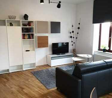 Hochwertig möblierte 1-Zimmer-Wohnung mit EBK in Leipzig
