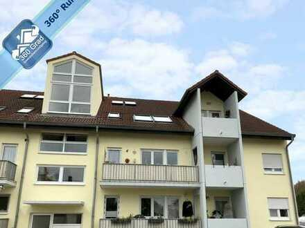 Vermietete 2-Zimmer-Wohnung mit großer Loggia und 2 Stellplätzen in Altrip