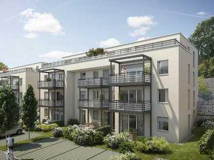 2 Zimmer Penthouse-Wohnung mit schöner Süddachterrasse