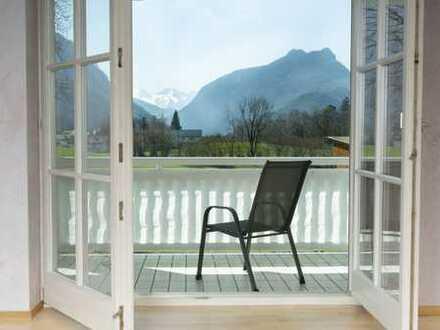 Extravagante 99 m² Wohnung mit grandiosem Bergblick in sonniger Top- Lage in Bayerisch Gmain zum näc