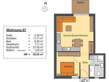 2-Zimmer-Eigentumswohnung für Eigennutzer und Kapitalanleger