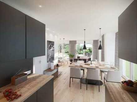 Neubau: Moderne Doppelhaushälfte in Aubing
