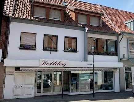 Wohn- und Geschäftshaus mit schönem Stadtgarten im Herzen von Borken