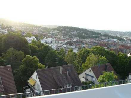 Helle 3-Zi-Wohnung mit Blick oberhalb Lehenviertel Stuttgart-Süd