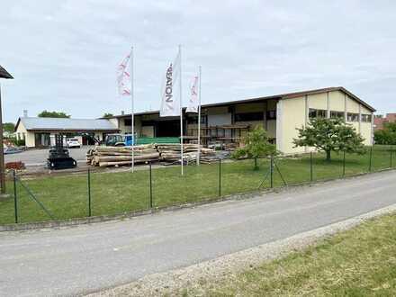 Vielseitig nutzbare Gewerbe- und Lagerhalle
