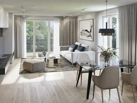 Moderne und helle 2-Zimmerwohnung mit West-Balkon in ruhiger Lage