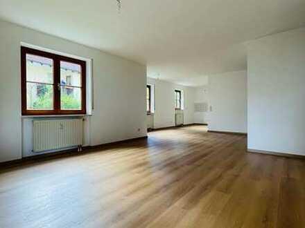 Stilvolle, vollständig renovierte 3-Zimmer-Erdgeschosswohnung mit Terrasse in Daisendorf