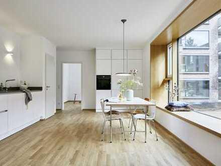 NEUBAU *** Exklusive 5-Zimmer Wohnung mit toller Ausstattung (z.B. Einbauküche, Parkett) im Park