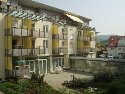 3-Zimmer-Senioren-Wohnung mit großer Dachterrasse in betreuter Wohnanlage