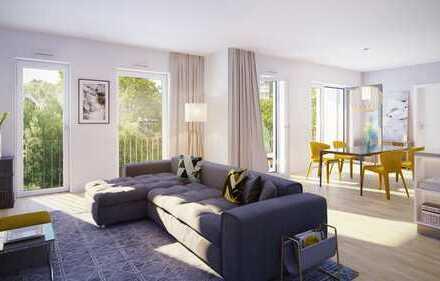 Großzügige Familienwohnung mit privatem Südgarten
