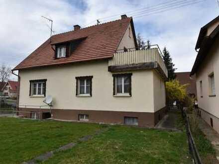 Bondorf - Ein Haus für die Familie mit großem Südgarten und Erweiterungspotenzial