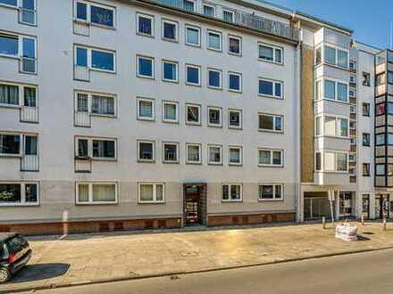Bremen - Bahnhofsvorstadt | Geräumige 3 Zimmer Wohnung mit Duschbad und schönem Südwestbalkon