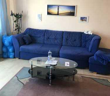 Gepflegte möblierte 1,5-Zimmer-Wohnung mit Balkon in Bad Schönborn Mingolsheim, 5 Minuten zum Bahnho
