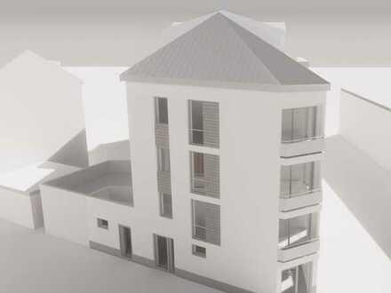 VERKAUF GEGEN GEBOT: Grundstück mit Baugenehmigung für 3 Wohnungen und ein Büro / Atelier