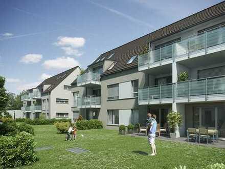 Vermietete 3-Zimmer-Neubau-Wohnung im OG mit Ostbalkon
