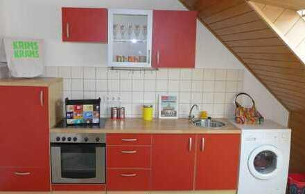 DO-City : perfekte DG 2 Zimmer WG oder Paar Wohnung / Große Küche komplett eingerichtet