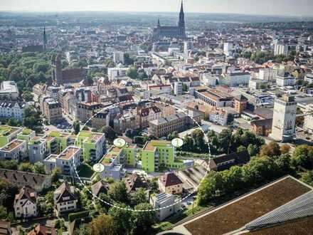 Erstbezug: exklusive 3,5-Zimmer-Wohnung mit Balkon in Ulm Mitte, Alles ganz neu
