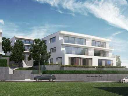 *Wohnen in bevorzugter Höhenlage*  3 Zimmer-EG-Wohnung mit Terrasse und Garten