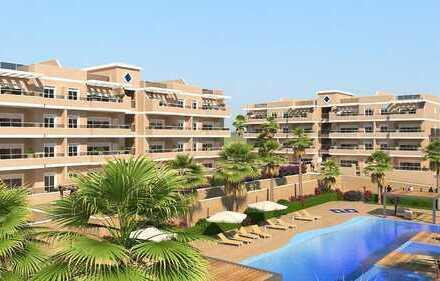 Schöne Penthouse-Wohnung in einer neu gebauten Anlage mit vielen Annehmlichkeiten in Orihuela Cos...