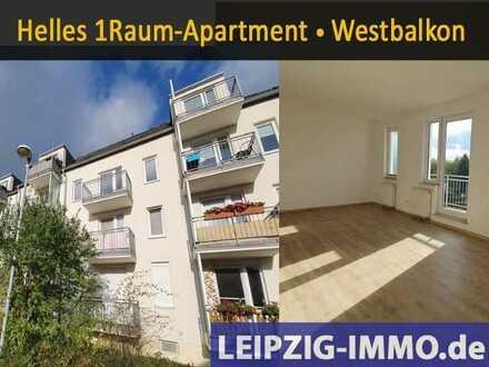 schöne Single-Wohnung in Engelsdorf * ruhige Lage * sonniger Balkon * Stellplatz