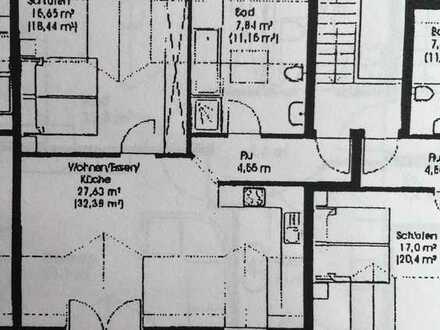 Exklusive, gepflegte 2-Zimmer-Wohnung mit Balkon in Fürstenfeldbruck