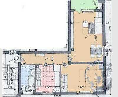 Zentral gelegene 2-Zimmer-Whg befristet von privat zu vermieten (Wiesbaden)