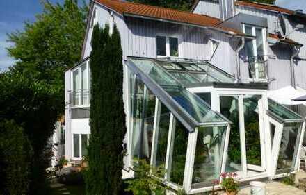 Traumhaftes Split-Level-Reiheneckhaus mit Wintergarten und Garten in Augsburg-Inningen