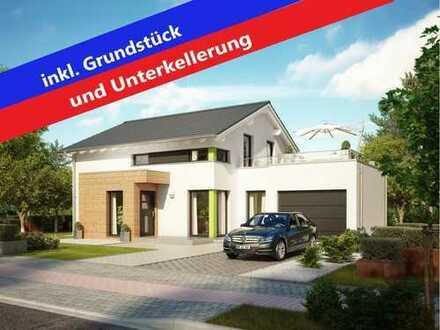 Großartiger Fernblick direkt in Niedenstein! mit Grundstück und Keller