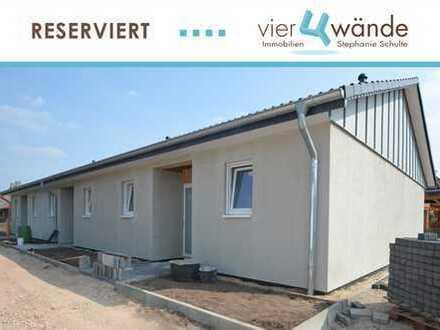 Barrierefreies Single-Reihmittelhaus als Eigentumswohnung