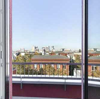 SUPER HELLES PENTHOUSE | Erstbezug | 3 Terrassen | 3 Schlafzimmer | 2 Bäder | Ital. Design-Küche