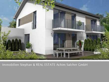Doppelhaushälfte in zentraler Lage von Prien mit Blick ins Grüne