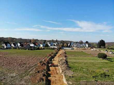 Unbebautes Baugrundstück im Neubaugebiet Niederholtorf - Süd