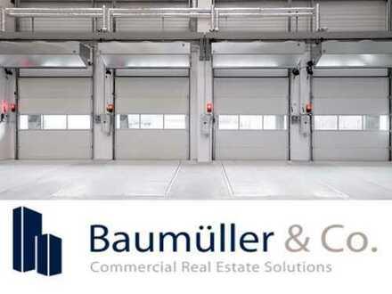 Anmietung von Teilflächen möglich - 100.000 m² Logistikfläche - NEUBAU