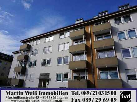 Ruhige 2-Zimmer-Wohnung mit großer Loggia in Berg am Laim Nähe Josephsburg