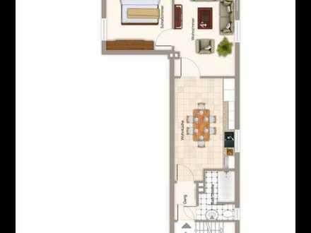 Dachgeschoss- Wohnung zur Miete