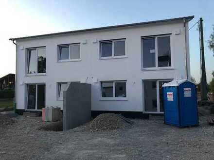 Neubau DHH mit Südgarten