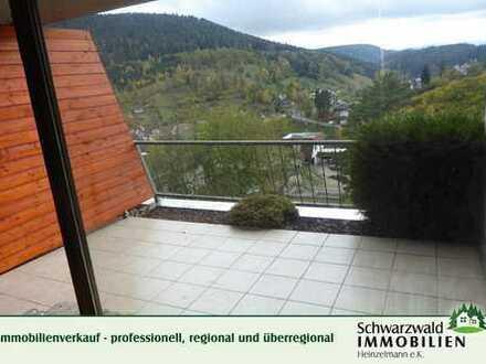 2-Zimmerwohnung in Aussichtslage in Alpirsbach
