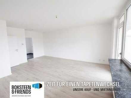 FRISCH SANIERT! Schöne Etagenwohnung mit Balkon in ehemaliger Opel-Siedlung!