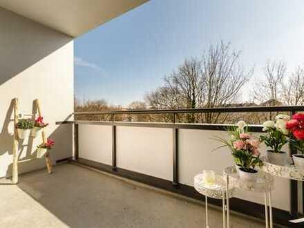 frei, hell und renoviert Appartment mit Blick ins Grüne