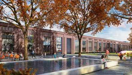 Halle 17 im Clouth Quartier - Gastronomie in kernsanierter Gewerbehalle für das neue Quartier