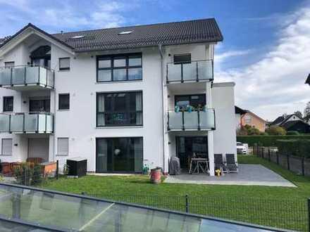 Fürstenfeldbruck ruhige sonnige große 4-Zimmer-Whg. gr. Terrasse eigenem Garten gr. Bad, Nh. S-Bahn