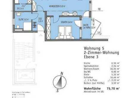 ***Wunderschöne 2-Zimmer-Wohnung***