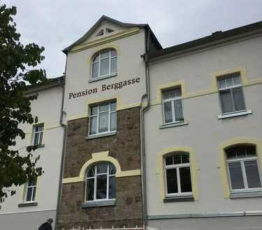 Pensions- und Gaststättenbetrieb, Wohn- und Büroflächen im Komplex in Olbernhau