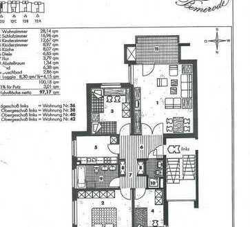 Sanierte 4-Zimmer-Wohnung mit Balkon und Einbauküche in Hannover