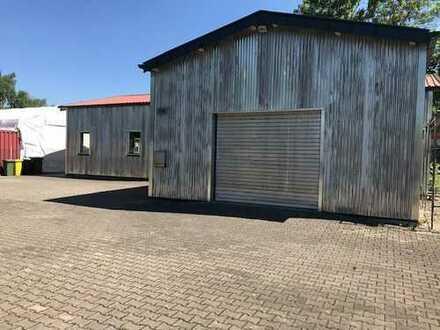 Industriegebiet Augsburg - Halle mit 694qm Grund zu verkaufen