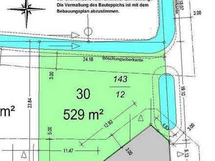 "ATTRAKTIVES BAUGRUNDSTÜCK IM NEUBAUGEBIET ""Wohnpark Am Amtsweg"", 529 qm"