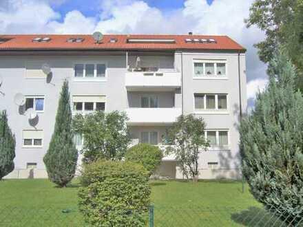 Sonnige und geräumige seit 2011 vermietete 3 ZKB ETW mit Balkon 1OG in Augsburg Hochzoll n. Bhf ICE