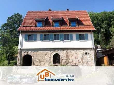 Ökologisch - nachhaltig gebautes Haus sucht naturverbundene Individualisten ( Althütte )