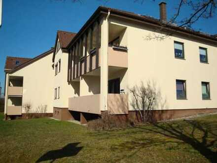 Bayreuth Stadtrand, 2-Zi.-Wohnung mit Balkon, Wfl. ca. 79,30 m²