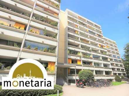 Bezugsfreies, sonniges Apartment mit Westbalkon